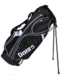 DBOT5 - Black & White Stand Bag  (Over Stock). 4 bags available
