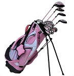 Sephlin - Lady Talia 12 Pcs Golf Club Set and Golf Bag Ages 11 - 14 Lh