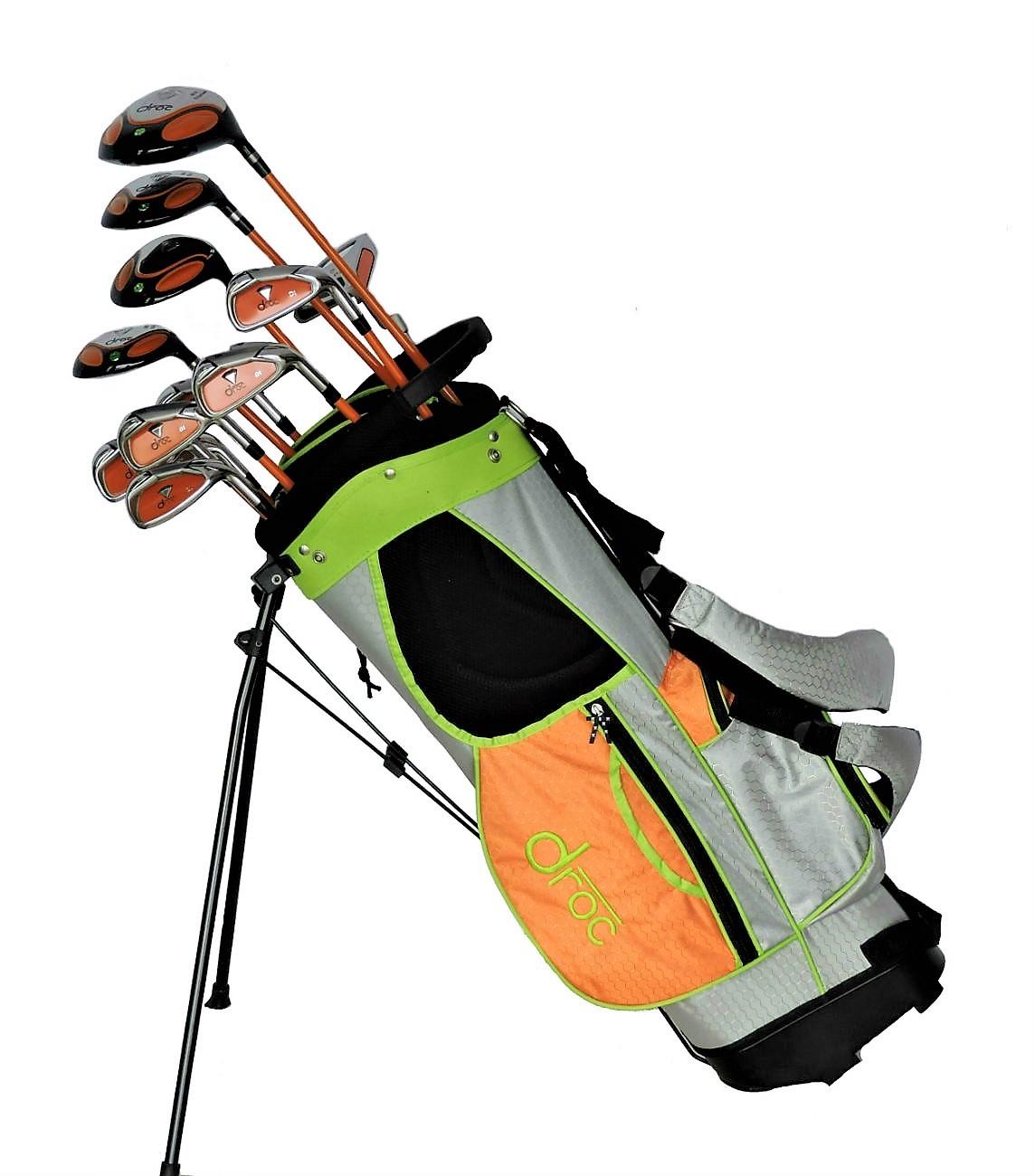 Droc Dimond Series 13 Pcs Golf Club Set Bag Age 9