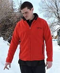 DROC- Red Energy Fleece Jacket