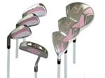 LEFT HANDED - Lady E  7 Pcs Girls Golf Club Set  3-6