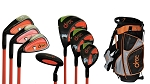 DROC - Mica Series *7*  Pcs Golf Club Set & Golf Bag   Age 3-6 Left Handed