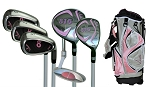 Sephlin - Lady Charity AGE 6-10  *6*  Pcs Golf Club Set and Bag  RH