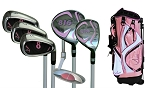Sephlin - Lady Charity  *6*  Pieces Right Hand Golf Clubs Set and Bag   Girls Ages 6-10