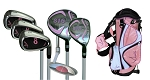 Sephlin - Lady E  AGE 3-6  *6*  Pcs Golf Club Set  &  Bag  RH