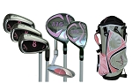 Sephlin - Lady E  *6*  Pieces Right Hand Golf Clubs Set  &  Bag   Girls Ages 3-6