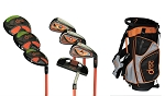 DROC - NOA Series Right Hand *7*  Pieces Golf Club Set & Golf Bag   Ages 6-8