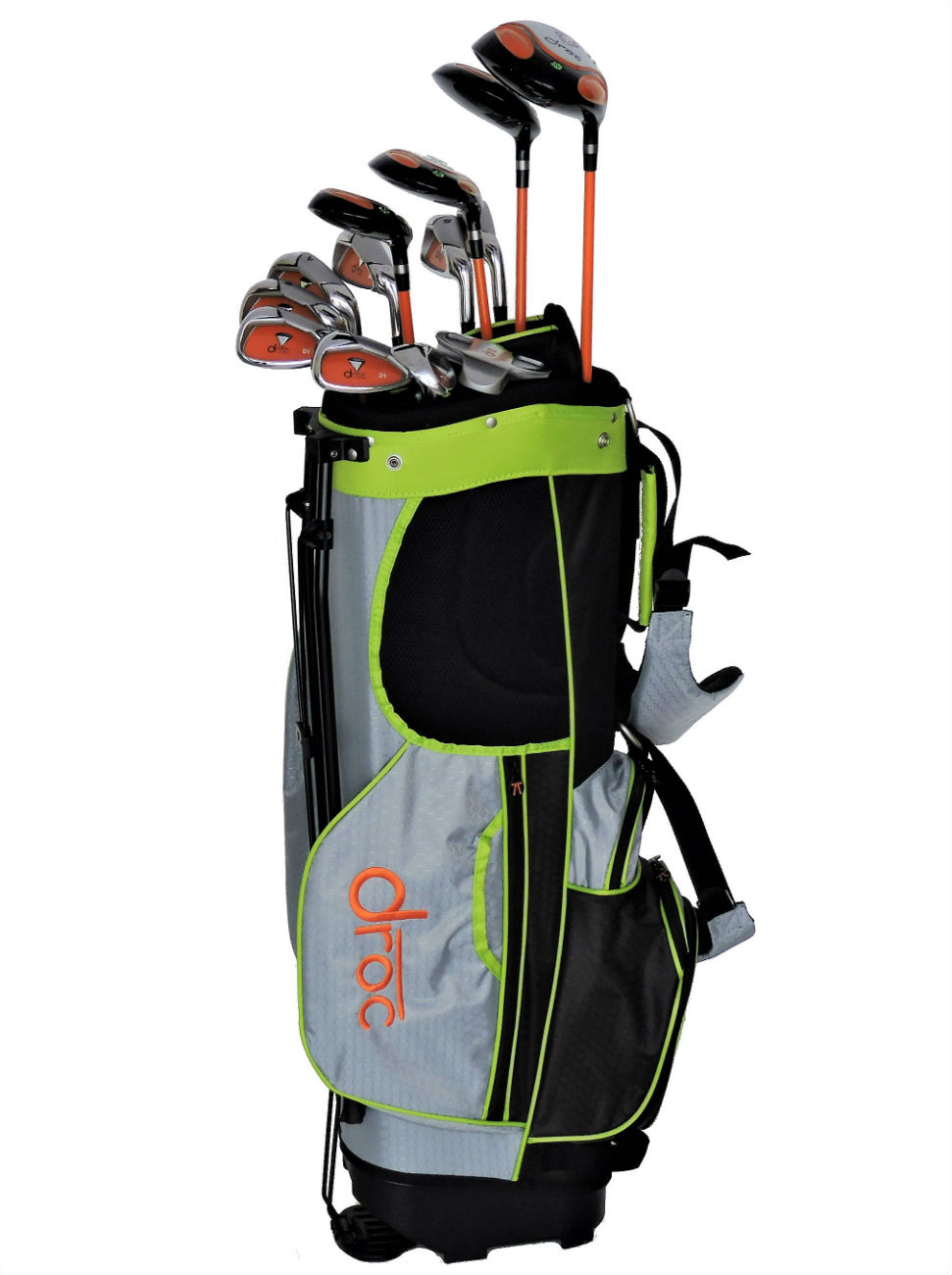 DROC - Dimond Series *13*  Pcs Golf Club Set & Golf Bag Age 11-14 Right Handed