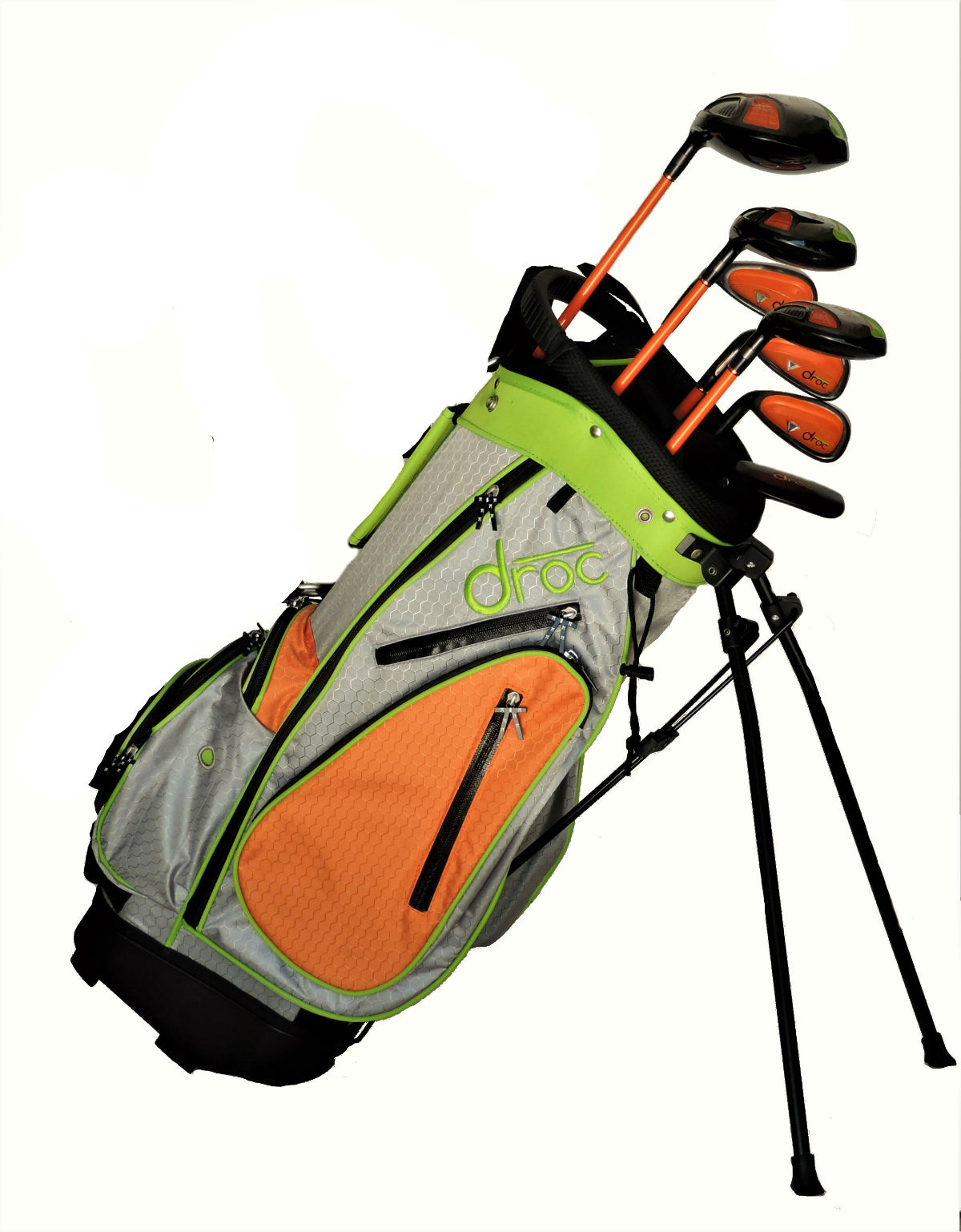 DROC - NOA Series *7*  Pcs Golf Club Set & Golf Bag Age 6-9 Left Handed