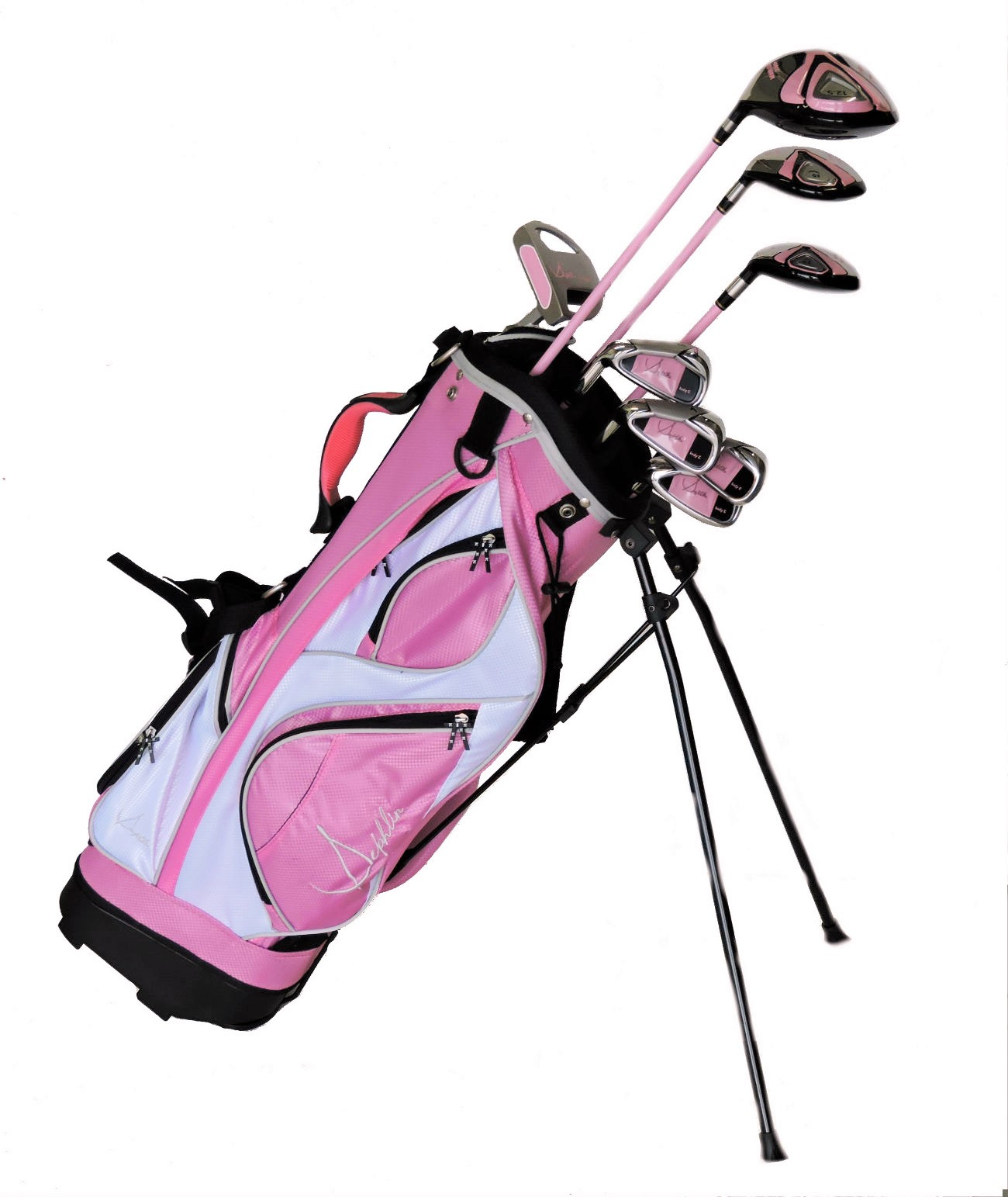 Sephlin - Lady Talia *8*  Pcs Golf Club Set and Golf Bag Ages 11 - 14 Lh