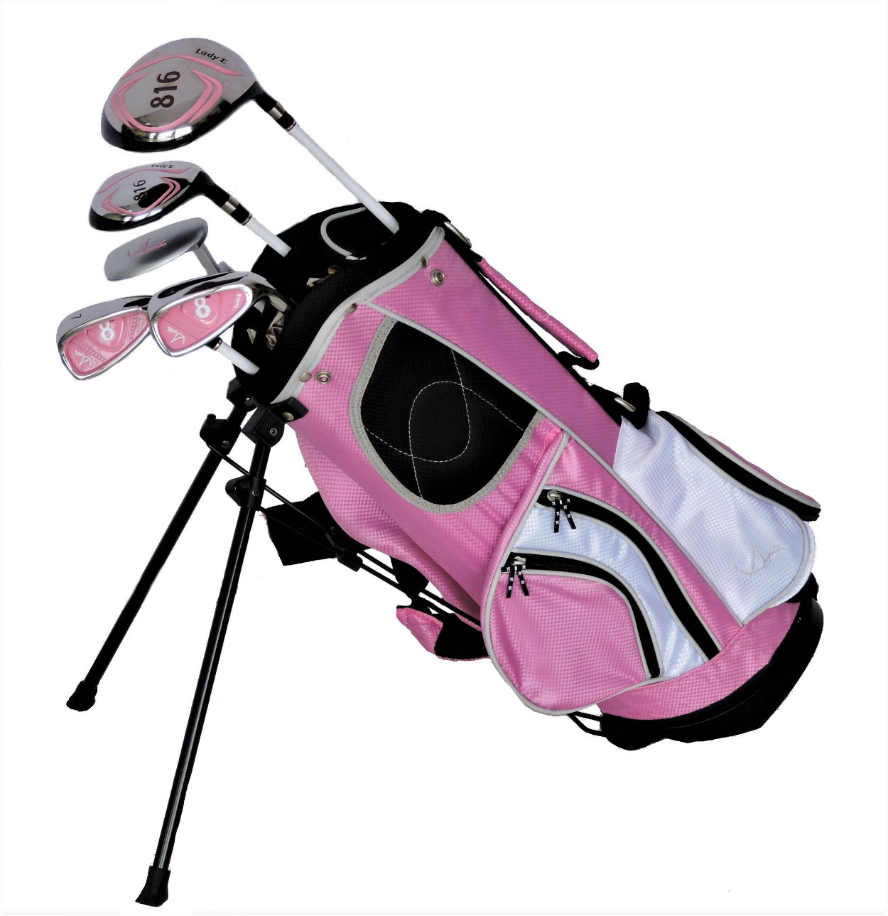 Sephlin - Lady E Girls Pink Golf Set *5* Pcs &  Bag  Ages 2-5 RH