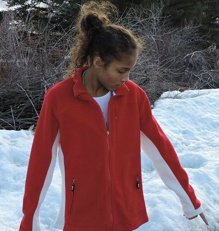 Sephlin Women's Red Polar Fleece